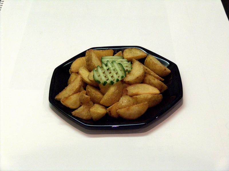 opékané brambory